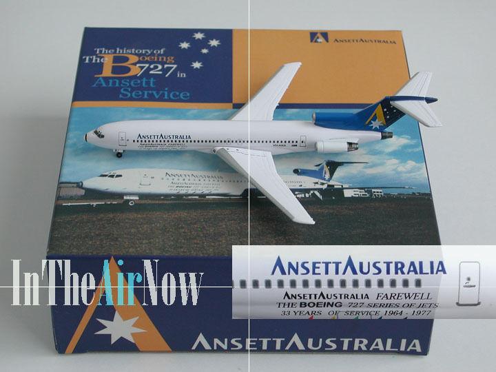 Ansett Australia Boeing 727 B727 Farewell Dragon Wings