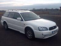 SUBARU LEGACY OUTBACK H6 PETROL AUTO CAR