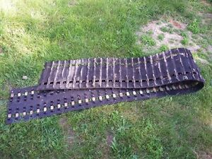 used SnowMobile Track 135 inch long X 15 inch wide