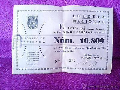 Lottery Participation National Original, Draw Christmas 1944 15x10 10u ()