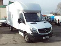 Mercedes-Benz Sprinter 313cdi 13ft Luton 130ps DIESEL MANUAL WHITE (2014)