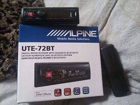 ALPINE UTE-72BT AND PIONEER DEH-X5600BT FOR SALE!!!