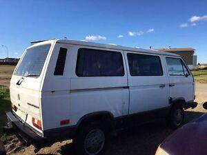 1990 VW camper van for sale.