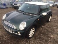 2002 Mini Hatch **REPAIR OR SPARE**