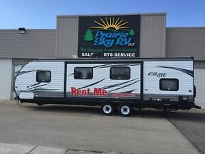 TRAILERS and MOTORHOMES for RENT
