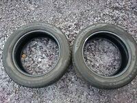 2x 205/55/16 Uniroyal RainSport3 (91V) Tyres