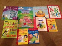 Phonic books and dr Seuss Wallington
