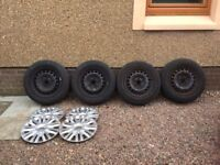 6 x VW wheels with tyres and rims