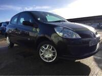 RENAULT CLIO 1.2 PETROL 2008 (0 REG)**£1499**LONG MOT*BLACK*MANUAL*PX WELCOME*DELIVERY