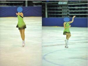 Robe patinage artistique