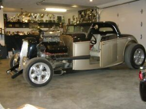 1933 all steel chevy roadster(not a kit car)