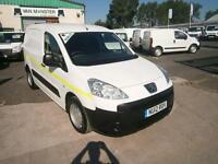 Peugeot Partner 850 S 1.6HDI 92ps Van DIESEL MANUAL WHITE (2012)