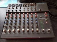 Mackie Series 1202 8 Channel Mixer.