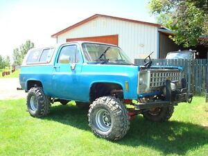 1977 Chevrolet Blazer K-5 3/4 Ton Modified