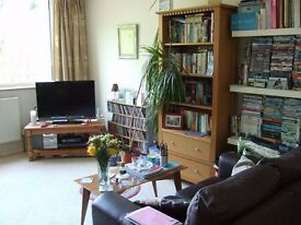 Furnished double room in 2-bed flat Chesterton with lovely communal gardens