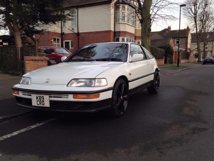 Honda 1992 MK2 CRX Vtec White B16