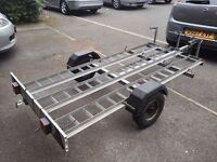 3 bike motorbike trailer STOKE ON TRENT