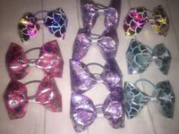 Custom Hair bows and t-shirts