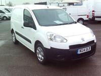 Peugeot Partner L2 850 1.6 HDI 92BHP VAN DIESEL MANUAL WHITE (2014)