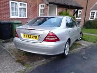 Mercedes C270 breaking for spares