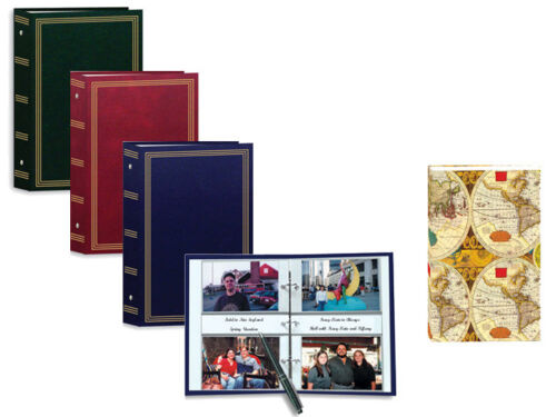 Pioneer ST-400 3-Ring Photo Album, Assorted Colors, Holds 400 Photos up to 4X6
