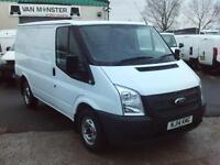 Ford Transit T280 swb Low Roof 125ps DIESEL MANUAL WHITE (2014)