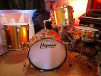 Hayman vibrasonic drum kit (circa 1969)