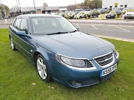Saab 9-5 1.9 TiD Vector Sport 4dr AUTO+12 MONTHS M.O.T £2,195 PRICED LOW