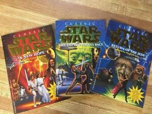 3 Classic Star Wars Chapter Books