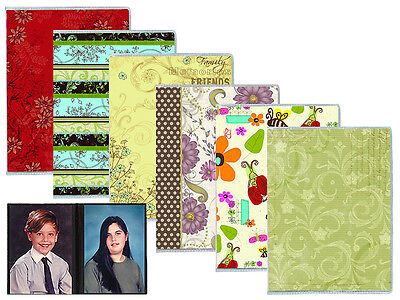 """Pioneer FC146/D Flexible Assorted Design Covers Photo Album Holds 36 4x6"""" Photos"""