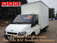 2002 LOW MILES Ford Transit T350 Luton with PSV and Lift
