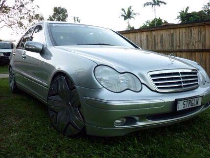 Mercedes C200 on 20s Camira Ipswich City Preview