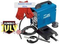 Draper Gasless Mig Welder Kit Deal With Kit Deal Wire & Mask MWD 100A GL 32728/MWD100AGL