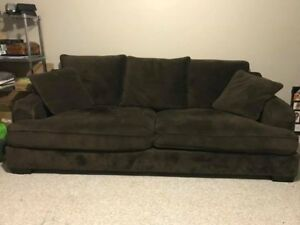 Large Couch & Chair-and-a-half