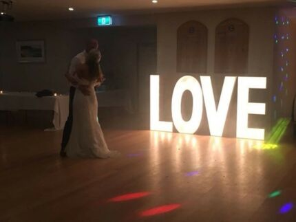 light up love letters for hire party hire gumtree australia