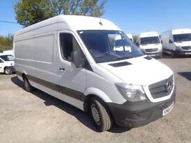 Mercedes-Benz Sprinter 313 CDI LWB High Roof 3.5T Van DIESEL MANUAL WHITE (2014)