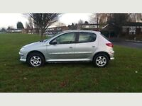 2006 Peugeot 206 Manual 5Doors With 12 Month MOT PX Welcome