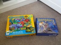 2 x dinosaur jigsaws