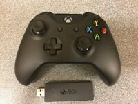 Xbox One Gaming Controller + Wireless Adapter for Windows 10 Microsoft