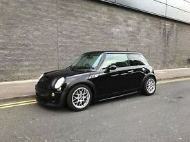 MINI Cooper S R53 Black w/ Black Leather/Cloth Interior