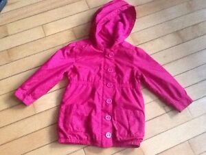 Babygap size 3 lined nylon coat