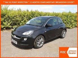 2015 Vauxhall / Opel ADAM 1.4i VVT 16v JAM ONE OWNER ONLY 21,000 MILES BLACK