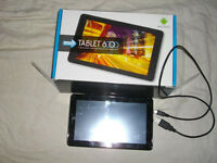"Disgo 6000 Andoid 7"" Tablet for parts untested"