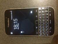 blackberry classic on vodafone , good condition