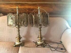 2 touch lamps, in working condition