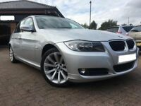 2009 BMW 320D SE 2.0,AUTO,DIESEL,17''ALLOYS,LEATHER TRIM,CLIMATE CTRL,PARKNG SNSRS,HPI CLR,LOW MILES
