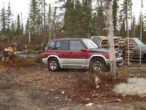 1997 Suzuki Sidekick VUS