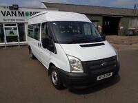 Ford Transit SHUTTLE BUS MEDIUM ROOF 9 SEATER TDCI 115PS DIESEL MANUAL (2013)