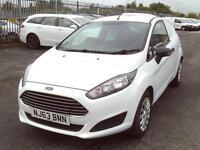 Ford Fiesta 1.5tdci 75ps Air Con DIESEL MANUAL WHITE (2013)