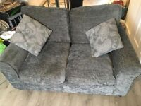 2 Tabitha Charcoal Grey Sofas (Like New) **NOW REDUCED** ** WAS £300**